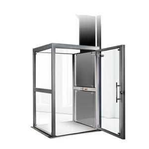 Elevador de cabina semicompleta